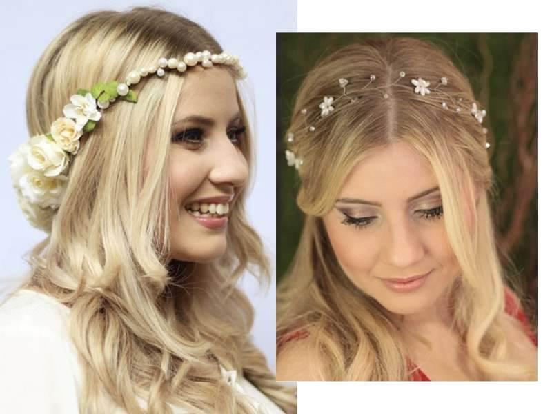 Headband para Noivas Dani Dellicatta