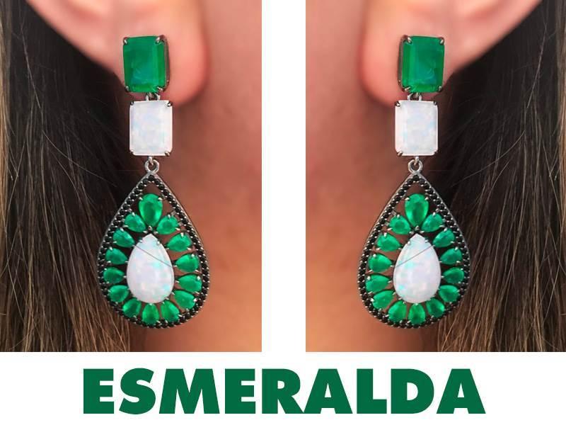 Tendencias de Pedras Preciosas Semijoias Esmeralda