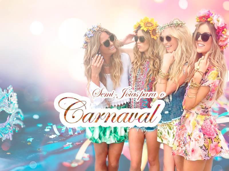 Semi jóias no Carnaval