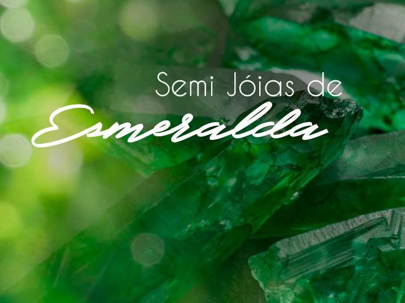 Semi Jóias de Esmeralda
